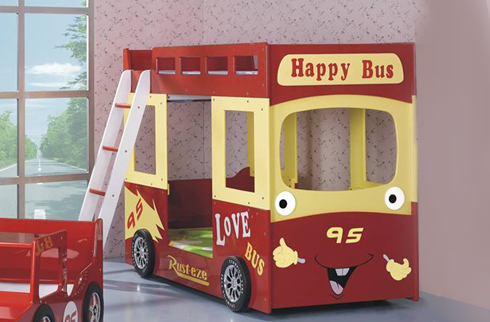 GIƯỜNG TẦNG HAPPY BUS BABY E51