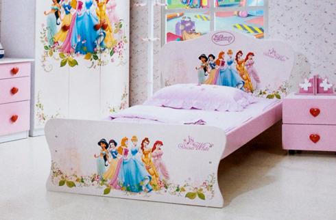 Giường ngủ công chúa elsa và anna