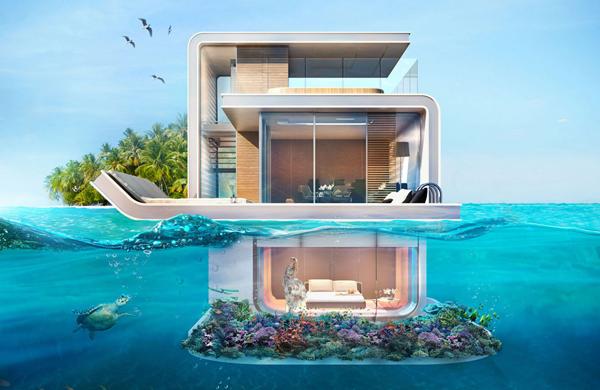 """Những biệt thự """"trên nổi dưới chìm"""" cho giới siêu giàu ở Dubai"""