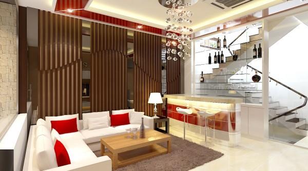 Thiết kế phòng khách hài hòa âm dương đón sinh khí vào nhà