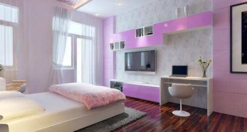 Thiết kế phòng ngủ vợ chồng theo phong thủy tăng sự gắn kết