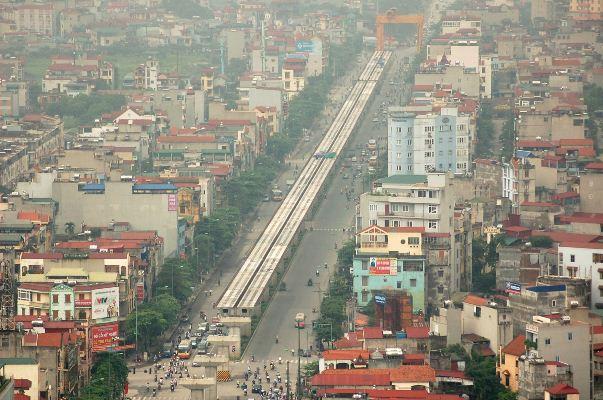 Đường sắt trên cao có khiến nhà đất phía Đông Hà Nội tăng giá?