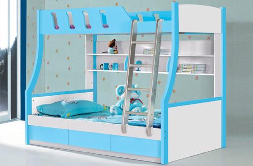 Giường ba tầng trẻ em nhập khẩu loại 1.2m BLA01
