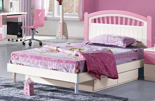 Giường ngủ cho bé gái thơ mộng BABY BL976G