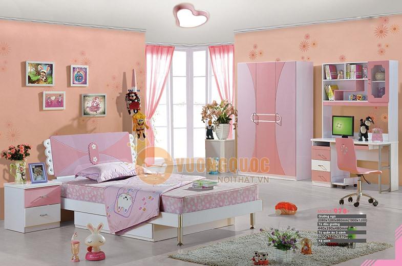 Giường ngủ cho bé kiểu công chúa BABY BL978G