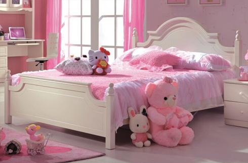 Giường ngủ cho bé kiểu dáng công chúa BABY M819G
