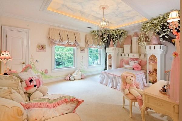 """Phòng ngủ tiền tỷ đẹp đến mê hồn của các """"cậu ấm cô chiêu"""""""