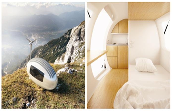 Hài lòng tuyệt đối với ngôi nhà nhỏ 8m² cõng bạn đi khắp mọi nơi