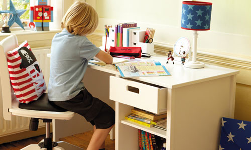 Những vị trí không nên đặt bàn học cho trẻ