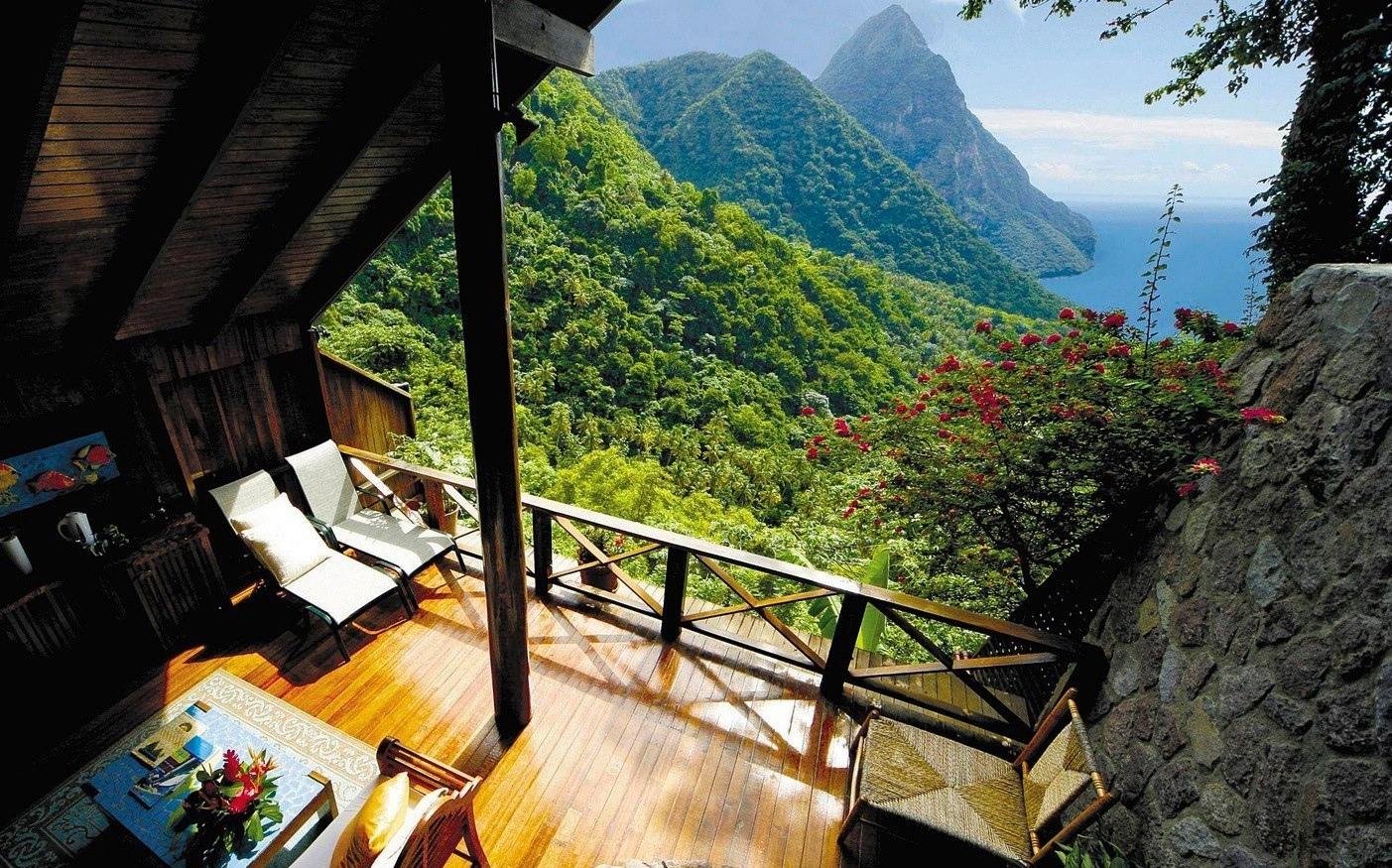 """Vòng quanh thế giới ngắm những ngôi nhà có view """"đẹp đến nghẹt thở"""""""