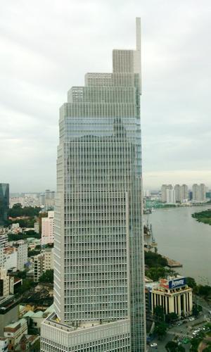 Cao ốc tài chính ngân hàng tại TP.HCM hút khách thuê