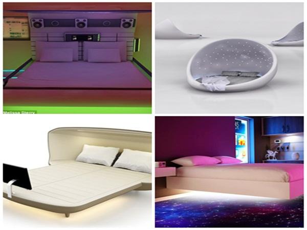 4 mẫu giường ngủ tương lai khiến ai cũng ao ước