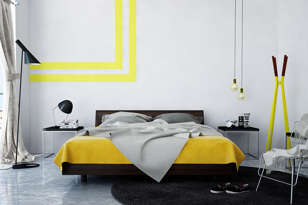 Tư vấn bố trí nội thất phòng ngủ 12m² cho cặp vợ chồng trẻ