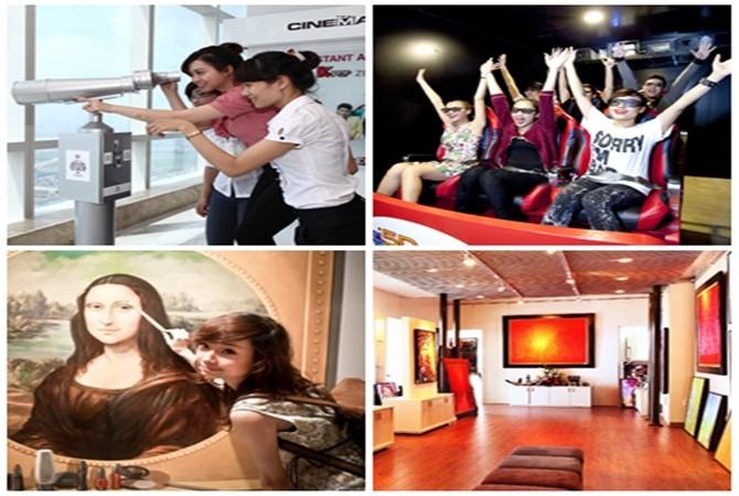Tận hưởng các dịch vụ giải trí độc đáo tại tầng 72 Keangnam