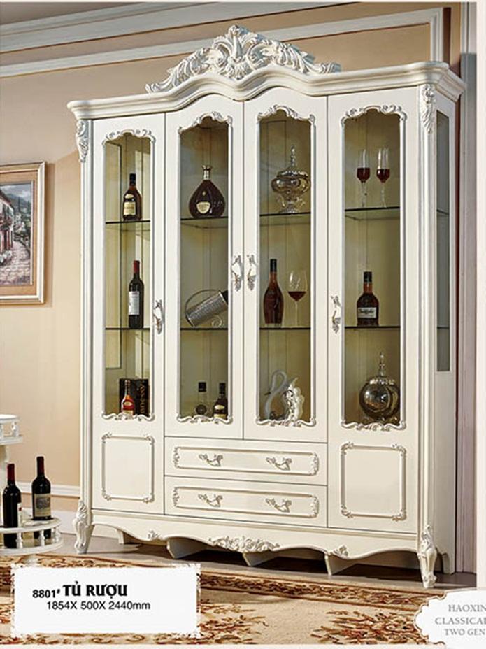 Đặt tủ rượu như thế nào cho hợp phong thủy?
