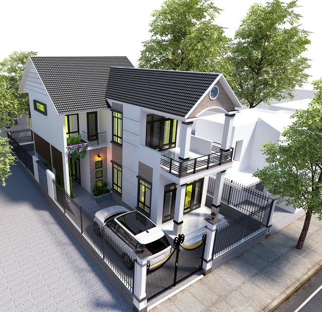 Tư vấn thiết kế nhà 2 tầng với không gian sống thoáng đãng