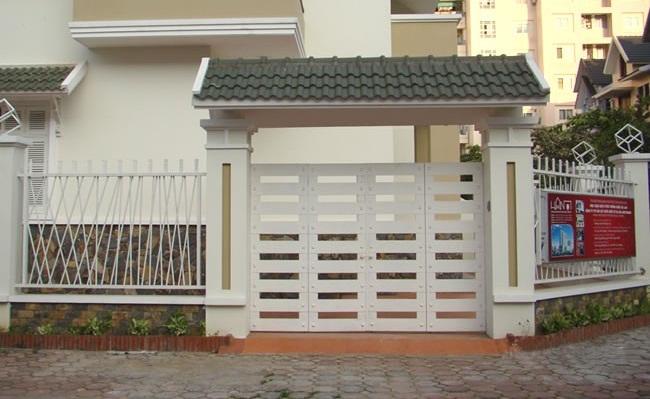 Những mẫu cổng nhà độc đáo cho nhà thêm xinh