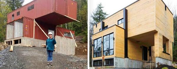 Mê mẩn với ngôi nhà tuyệt đẹp làm từ container cũ