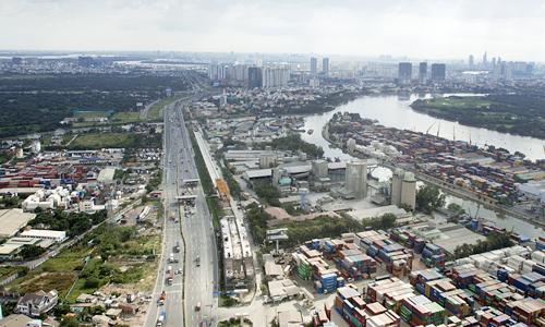 Bất động sản Tp.HCM bao vây các tuyến metro