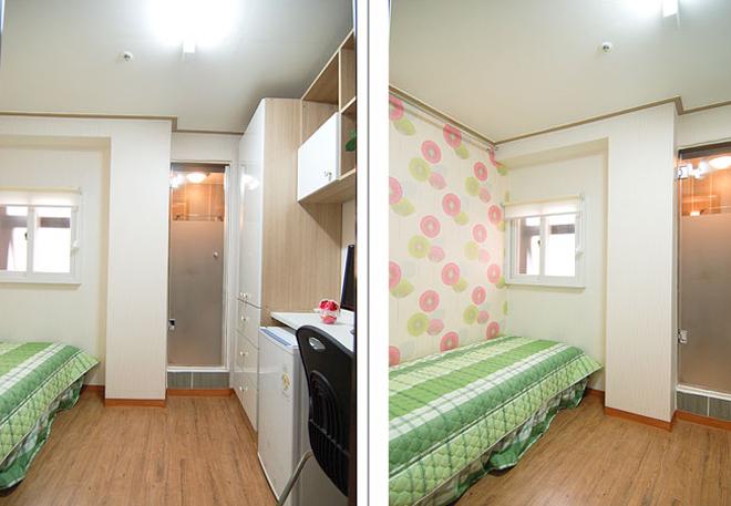Tròn mắt với những căn hộ chung cư tý hon 6m2 ở Hàn Quốc