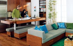 Hút mắt với căn hộ 60m² rộng thênh thang của cặp đôi nhà thiết kế nổi tiếng