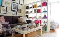4 giải pháp lưu trữ đồ thông minh cho phòng khách nhỏ