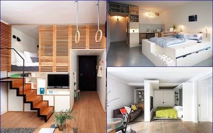 Ngắm những căn hộ nhỏ dưới 40m² cả nghìn like của năm 2015