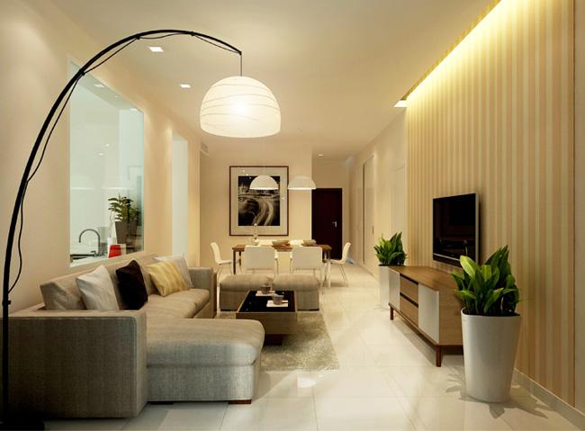 Cách bố trí nội thất căn hộ chung cư hợp lý