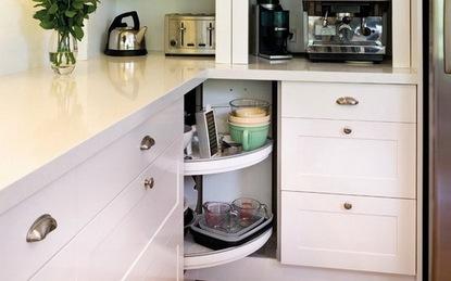 Các thiết kế tủ lưu trữ sáng tạo cho nhà bếp nhỏ
