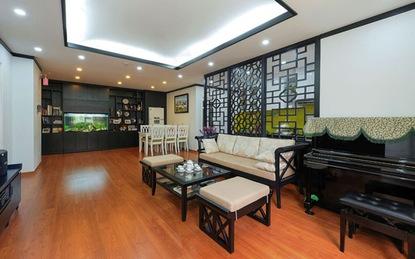 Ngắm căn hộ chung cư phong cách Đông Dương cực lôi cuốn