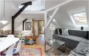 Ngắm 2 căn hộ 80m² siêu đẹp với 2 phong cách thiết kế đối lập