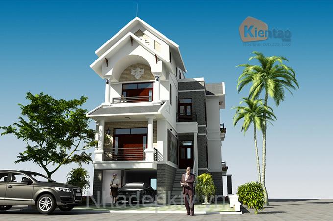 Tư vấn thiết kế biệt thự trên mảnh đất 180m2 cho nhà có 3 thế hệ