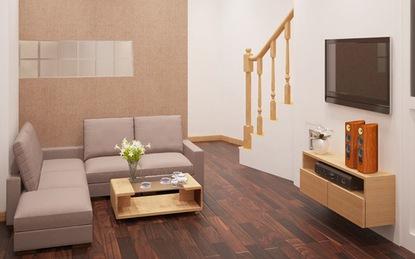Tư vấn thiết kế và bố trí nội thất nhà ống 20,47m² tràn đầy sức sống