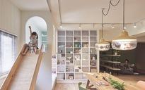 Ngây ngất với căn hộ có khu vui chơi dành riêng cho bé ở trong nhà