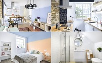 Ngắm căn hộ nhỏ mang phong cách chiết trung ấm áp, gần gũi