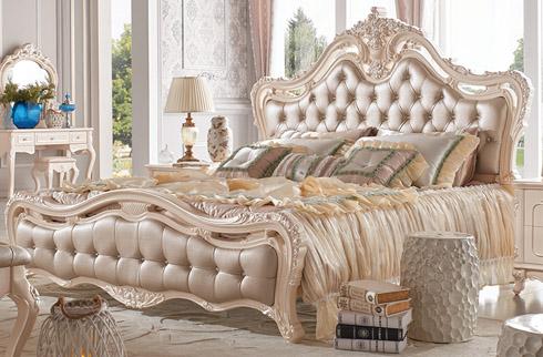 Giường ngủ tân cổ điển kiểu hoàng gia