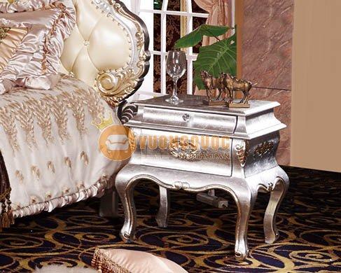 Bộ giường ngủ tân cổ điển sang trọng OAK RA810 - Tab đầu giường