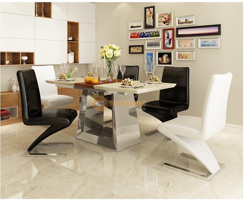 Bộ bàn ghế phòng ăn hiện đại KMT009