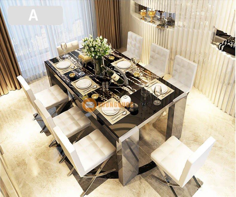 Bộ bàn ghế ăn hiện đại KMT006