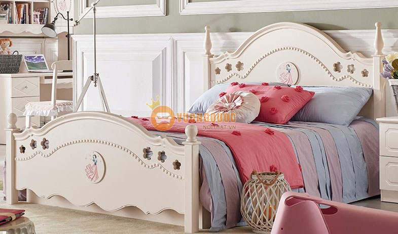 giường ngủ công chúa jy6003-2