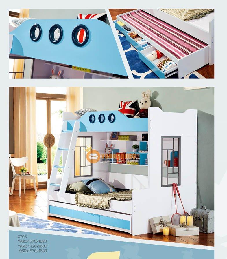 Giường tầng cao cấp LSL0703-4