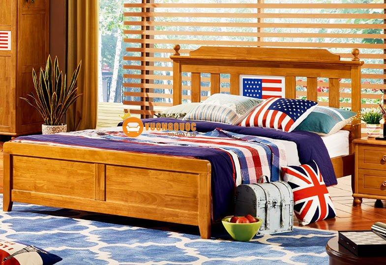 Phòng ngủ họa tiết cờ mỹ LSL202-3