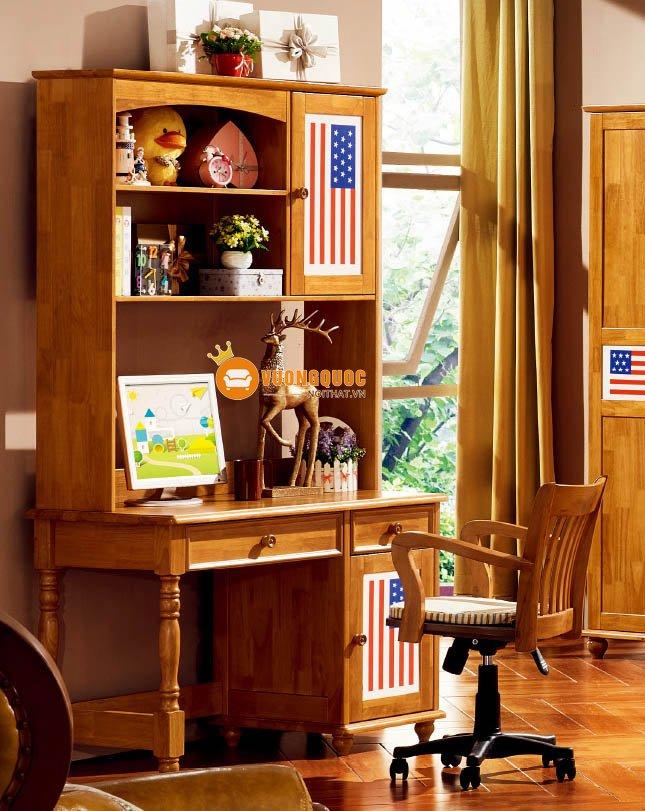 Phòng ngủ họa tiết cờ mỹ LSL202-2