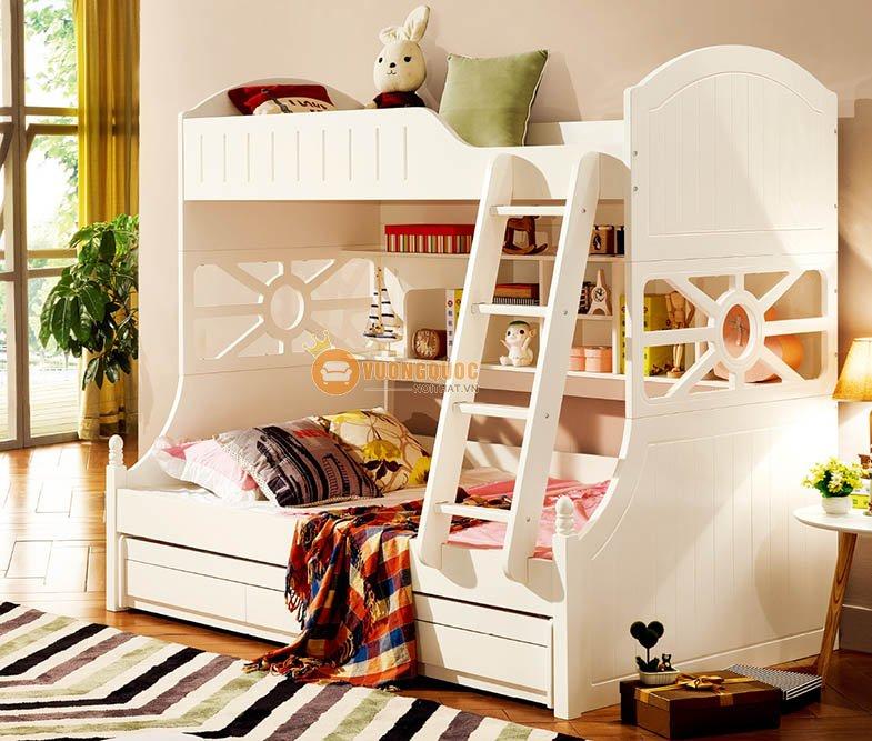 Phòng ngủ màu kem tươi sáng LSL0706-2