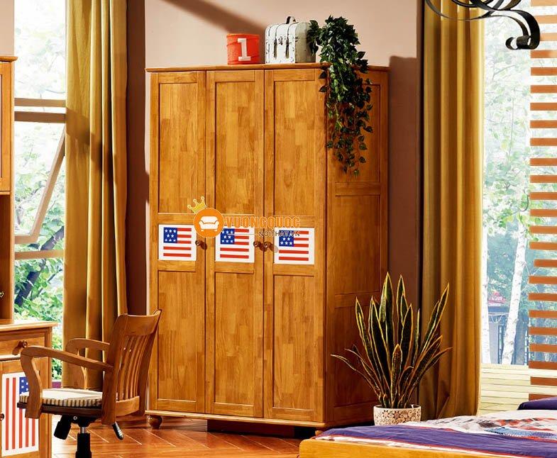 Phòng ngủ họa tiết cờ mỹ LSL202-1