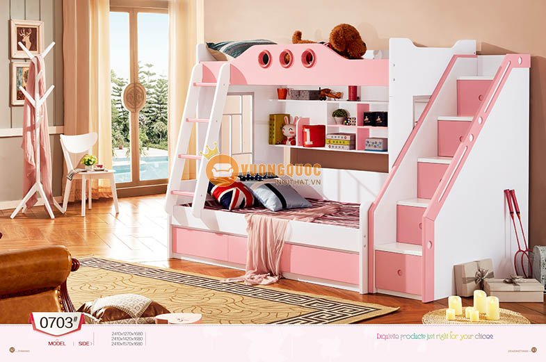 Giường tầng cao cấp LSL0703-2