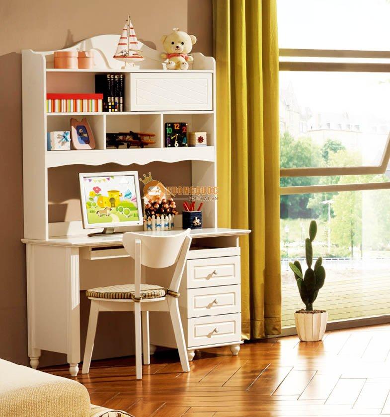 Phòng ngủ màu kem tươi sáng LSL0706-1