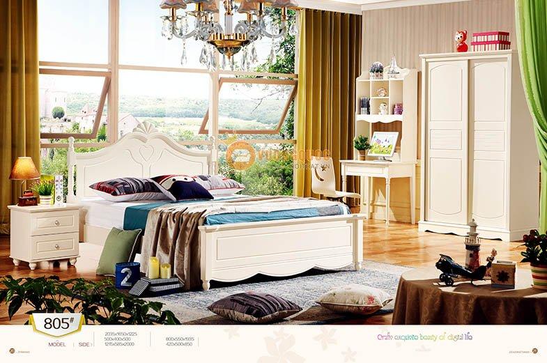 phòng ngủ công chúa hiện đại lsl805-1