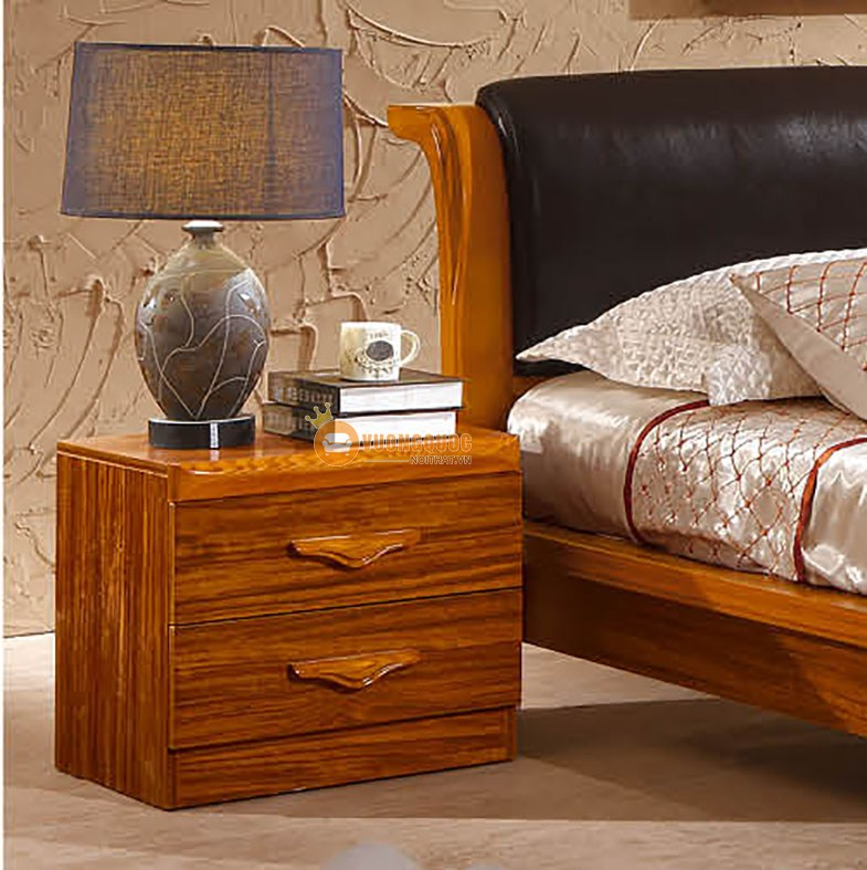 Bộ nội thất phòng ngủ gỗ tự nhiên CNS3A008 - Tab đầu giường