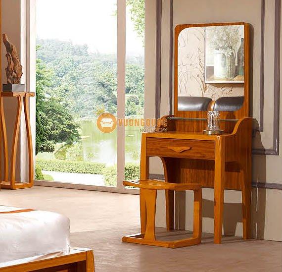 Bộ nội thất phòng ngủ gỗ tự nhiên CNS3A008 - Bàn trang điểm